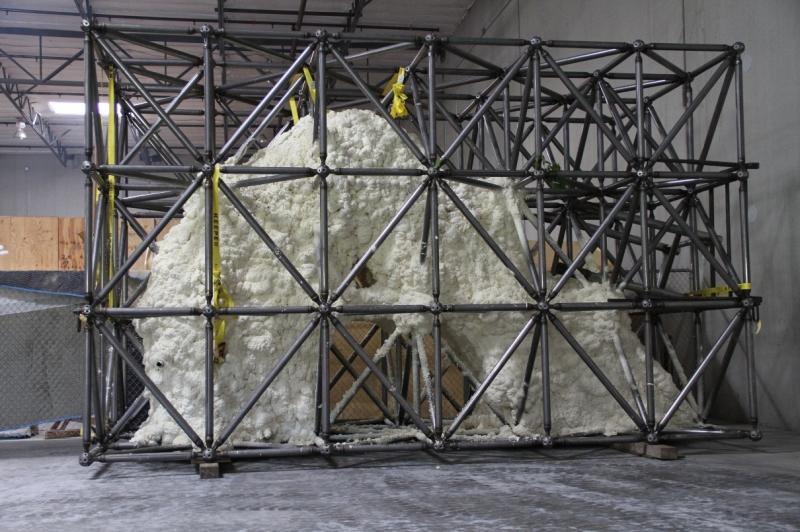 Delta Structures Space Frames